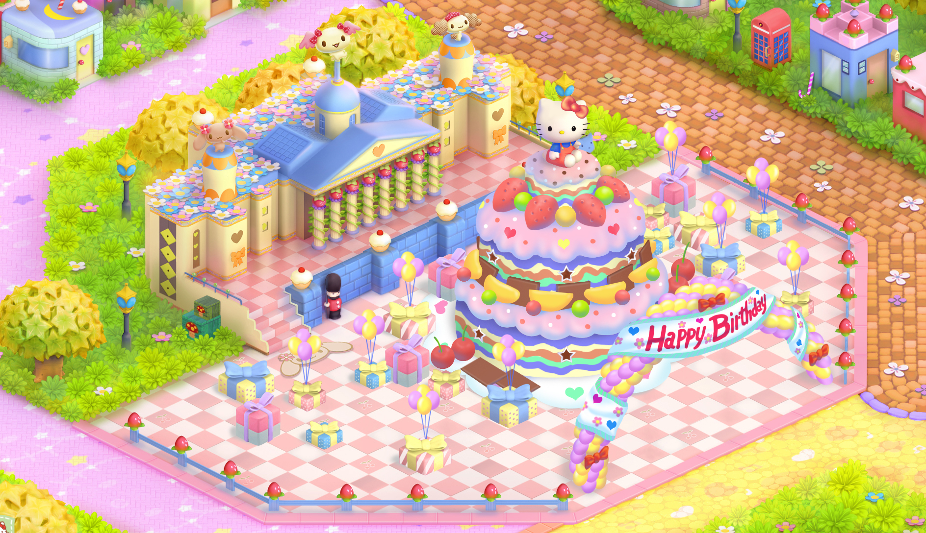 London Birthday Decorations - Hello Kitty Online Photo (2878061