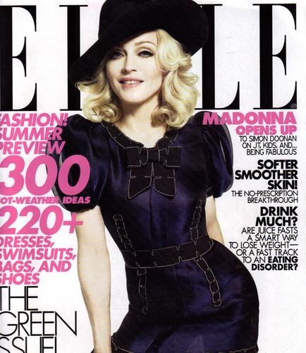 Madonna ELLE Cover
