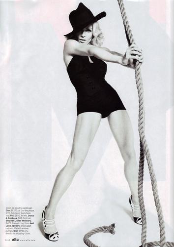 Madonna ELLE foto Shoot
