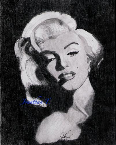 Marilyn Monroe(pnecil)