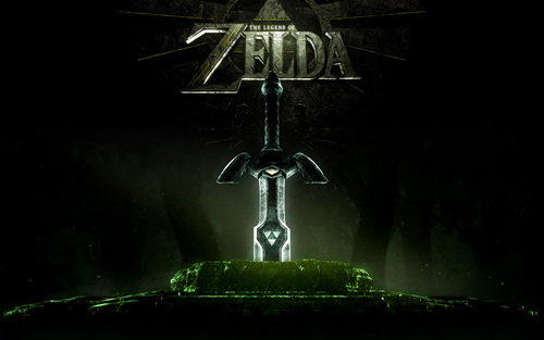 Master Sword Wallpaper - the-legend-of-zelda Wallpaper