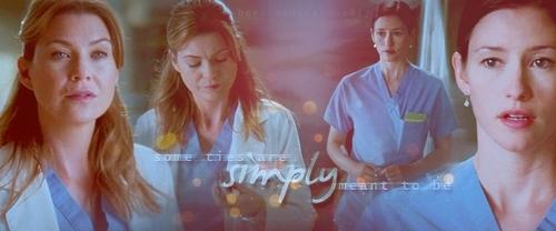 Meredith & Lexie