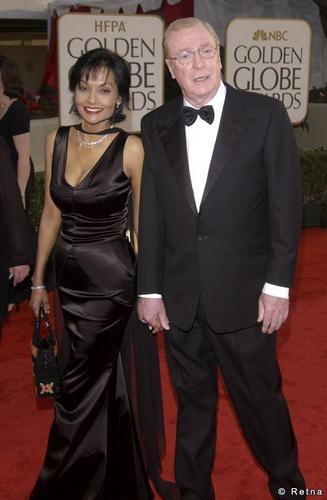 Michael and শাকিরা at 60th Golden Globe Awards