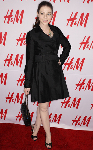 Michelle at H&M Evening