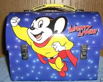 Lunch Boxes wallpaper titled Mighty Mouse Dome Lunch Box