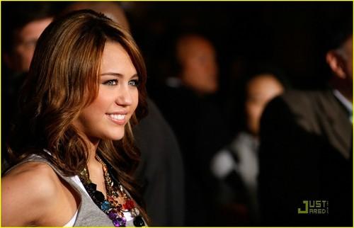 Miley @ Bolt Premiere