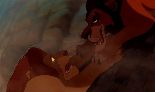 The lion king mufasa and scar - photo#25