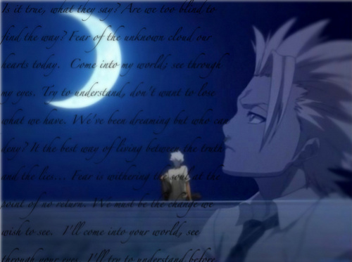 Bleach Anime wallpaper entitled Musings Under Moonlight