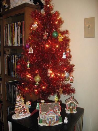 My mini 크리스마스 tree!