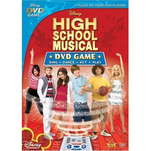 New High School Musical DVD Game