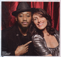 Omar Epps and Lisa Edelstein