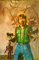 Painting of Chuck - chuck-norris fan art
