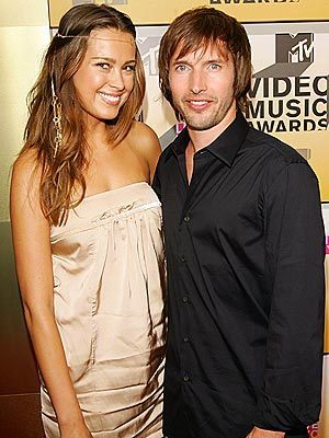 Petra and James Blunt