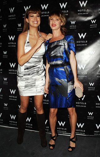 Petra and Juliette Lewis at NY Fashion Week