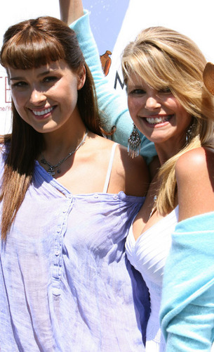 Petra out with Christie Brinkley
