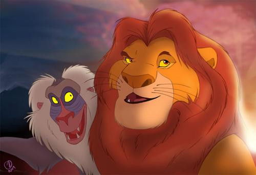 Rafiki & Mufasa