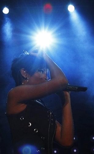 Rihanna in Singapore