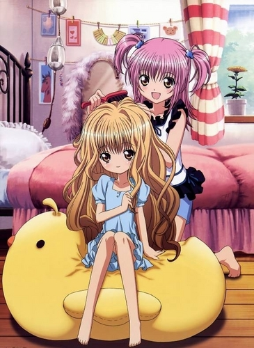shugo chara wallpaper with animê called Rima and Amu