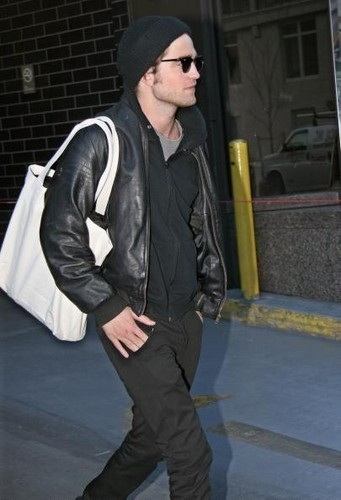 Rob leaving Manhattan Hotel