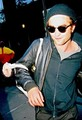 Rob leaving Manhattan Hotel - twilight-series photo