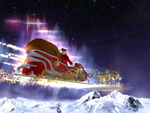 Santa's Рождество Eve Sleigh Ride (Christmas 2008)