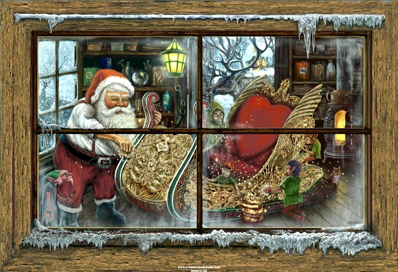 Santa's Sleigh  (Christmas 2008)