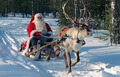 Santa and Reindeer (Christmas 2008)