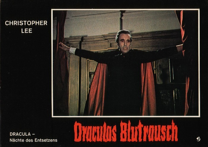 Hammer horror films scars of dracula