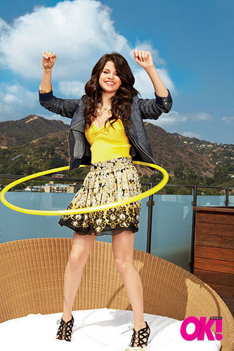 Selena OK photoshoot