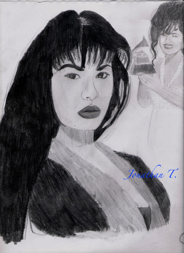 Selena(pencil) - selena-quintanilla-perez Fan Art