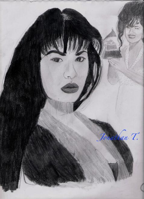 Selena(pencil)