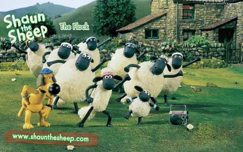 Shaun the Sheep wallpaper called Shaun the sheep