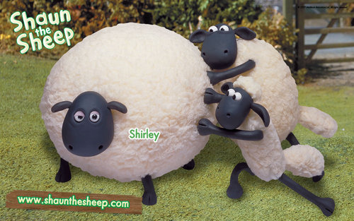 Shaun the sheep - shaun-the-sheep Wallpaper