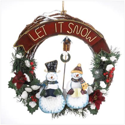 Snowmen giáng sinh Wreath (Christmas 2008)