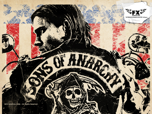 Sons of Anarchy Hintergrund with Anime entitled Sons Of Anarchy