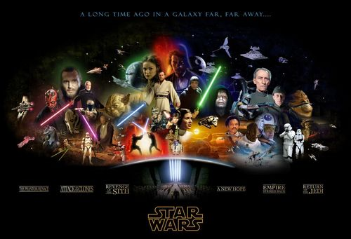 Star Wars legendary Saga