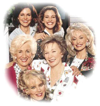 Steel Magnolias wallpaper with a portrait titled Steel Magnolias