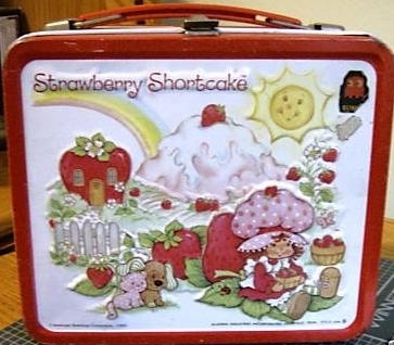 Lunch Boxes wallpaper entitled Strawberry Shortcake Vintage 1980 Lunch Box