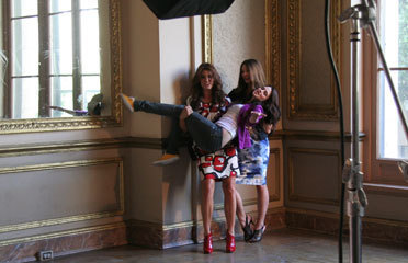 Teen Magazine - Behind the Scenes