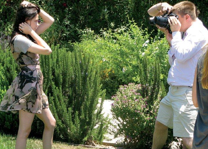 Teen Vogue: Behind The Scenes Pictures