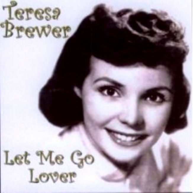 "Teresa Brewer ""Let Me Go Lover"" Album Cover"