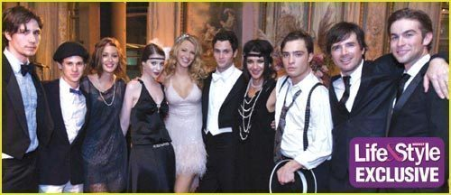 Gossip Girl fond d'écran with a business suit titled The Cast Of Season 2
