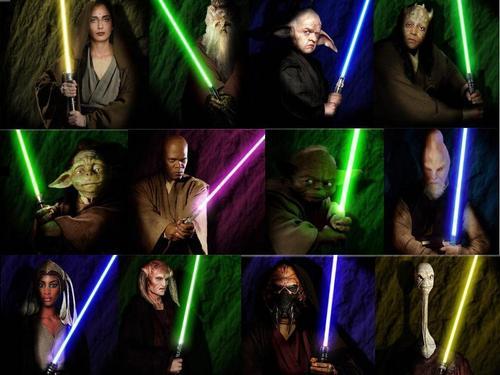stella, stella, star Wars wallpaper called The Jedi Council