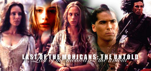 The Last of the Mohicans দেওয়ালপত্র titled The Last of the Mohicans