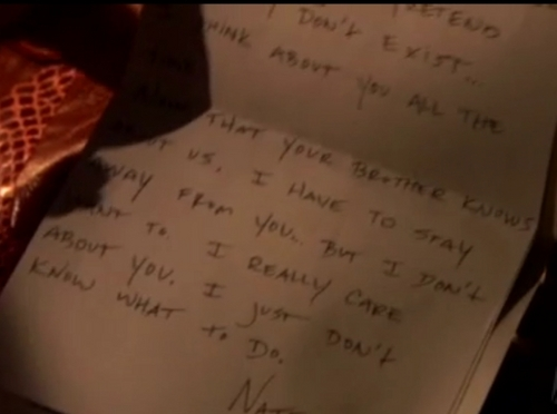 The Letter - From Nate to Jenny