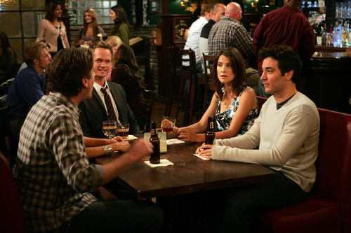 How I Met Your Mother wallpaper titled The Naked Man Promo's