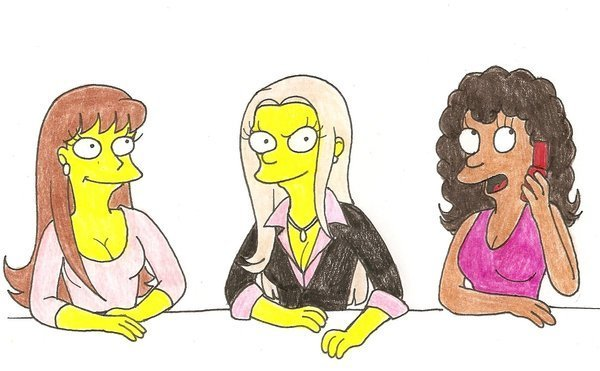The Plastics - Simpson Style