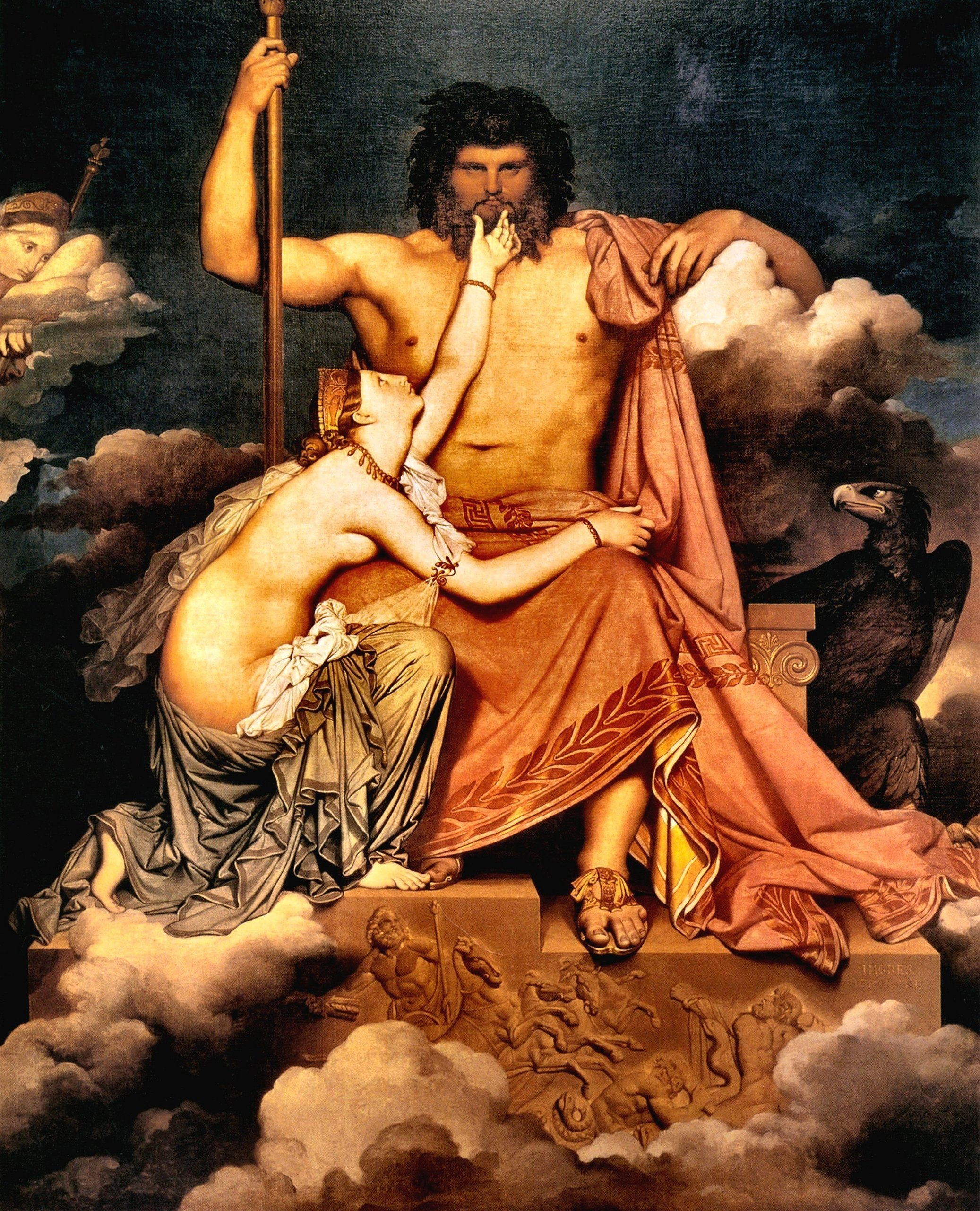 the depiction of hera and zeus in greek mythology