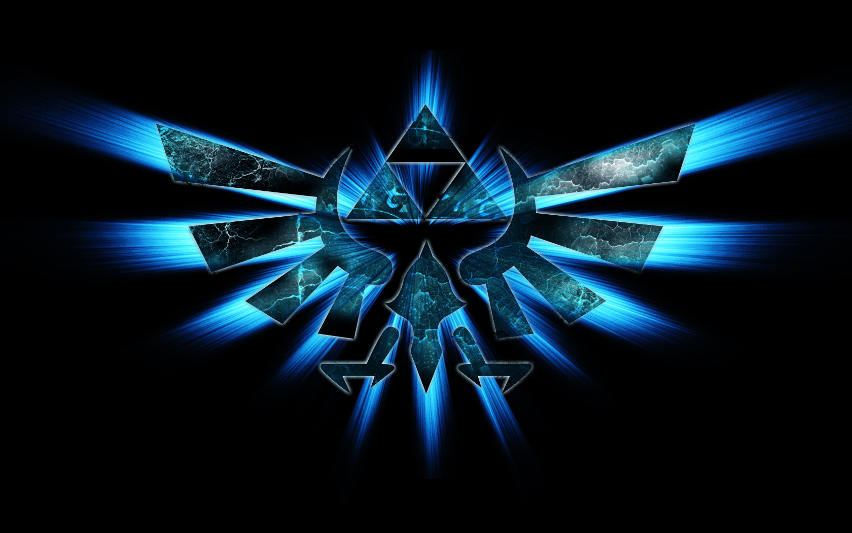 Triforce Wallpaper - The Legend of Zelda 1680x1050 1440x900 1280x800