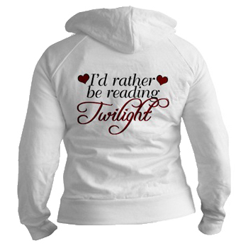 I'd Rather Be lectura Twilight camisa, camiseta